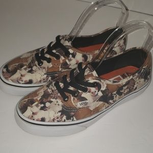 VANS 'Off The Wall' Cats shoes size M6 W8 ASPCA